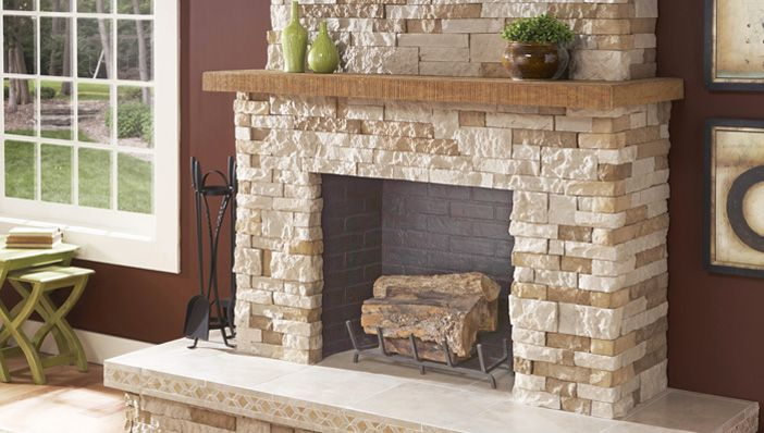 Natural Stones For Your Fireplace Surround